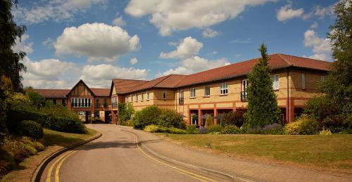 A garden outside Warwick Conferences - Scarman