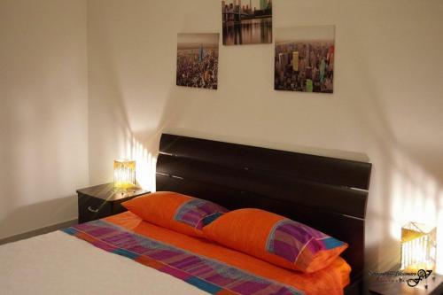Letto o letti in una camera di Il Cortiletto