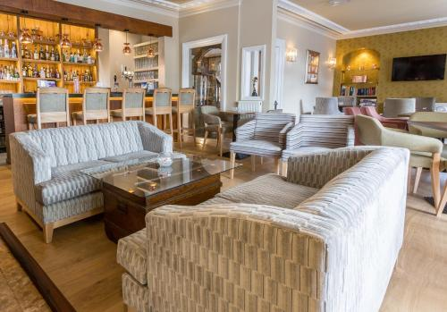 The lounge or bar area at The Lamplighter Dining ~ Rooms