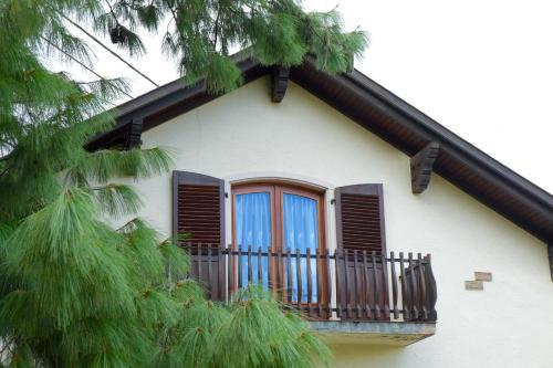 A balcony or terrace at Les Sources de Saverne