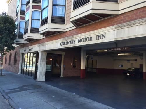 The facade or entrance of Coventry Motor Inn