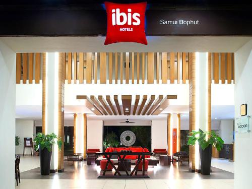 The lounge or bar area at Hotel Ibis Samui Bophut