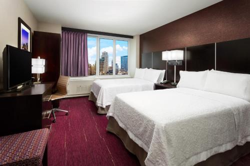 A room at Hampton Inn Times Square Central