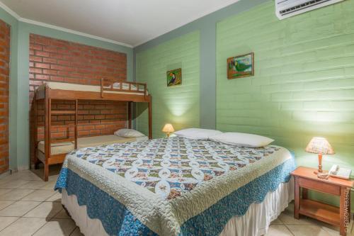 Una habitación en Pousada Rancho Jarinu