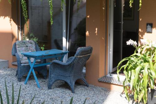Ein Patio oder anderer Außenbereich in der Unterkunft Chez Pio