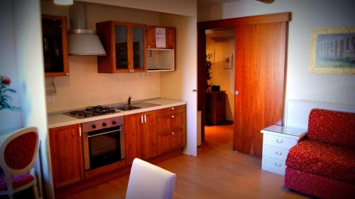 A kitchen or kitchenette at Venice Resorts