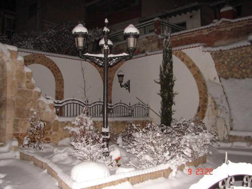La Hacienda de mi Señor during the winter