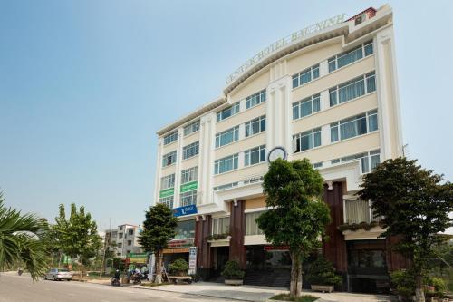 A garden outside Center Hotel Bac Ninh