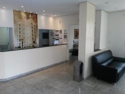 O saguão ou recepção de Hotel Globo Rio