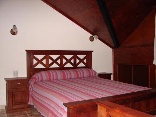 Una habitación de Cabañas Marias del Sur