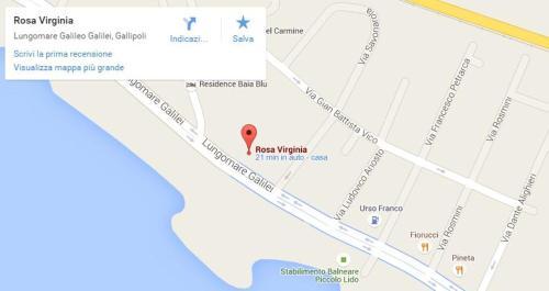 Vista aerea di Residence Rosa Virginia