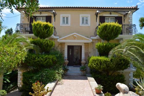 The facade or entrance of Christoforos Apartments