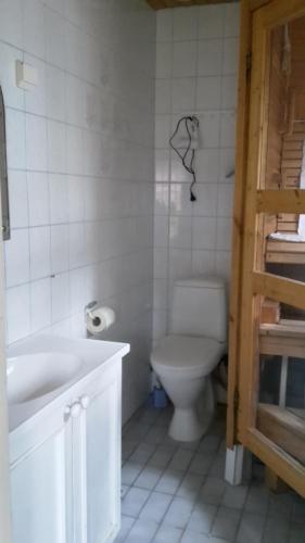 Kylpyhuone majoituspaikassa Kirkkokadun Amanda ja Olga