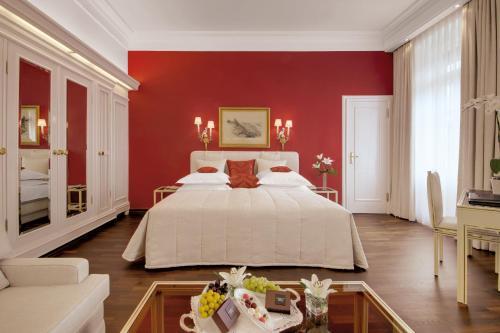 Ein Zimmer in der Unterkunft Hotel Europäischer Hof Heidelberg