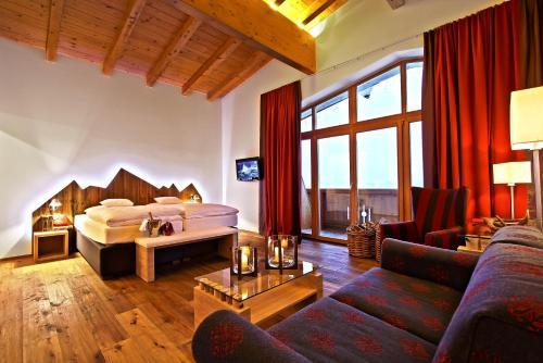 Гостиная зона в Hotel Seelos