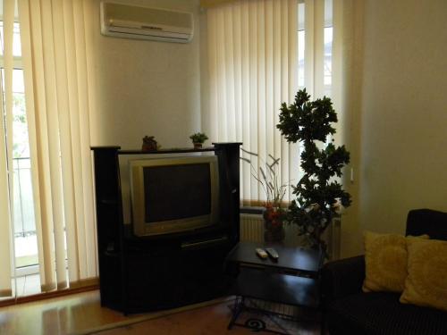 A seating area at Apartments on Deribasovskaya 18