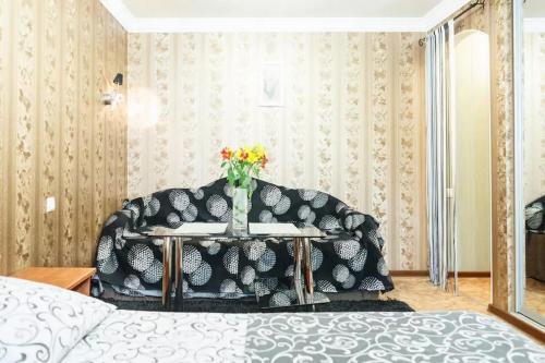 Гостиная зона в Apartment on Nezalezhnoy Ukrаiny near Intourist Hotel