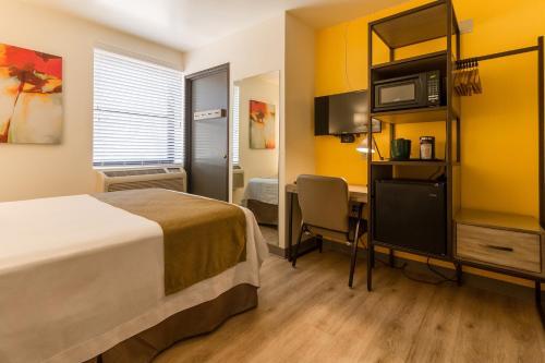 A room at Kawada Hotel