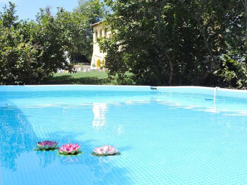 Het zwembad bij of vlak bij Casale Fedele Family Bike B&B