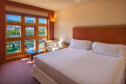 Una habitación en Hotel Meliá Bilbao