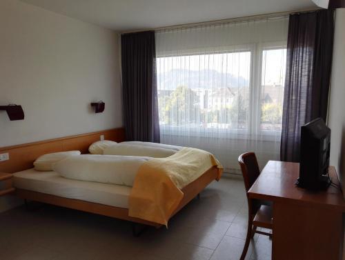 Ein Zimmer in der Unterkunft Hotel Löwen