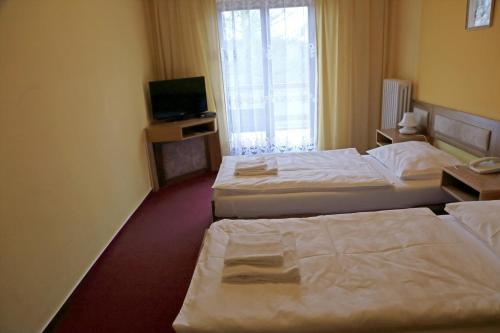 A room at Hotel Zvíkov