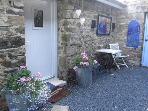 A porch or other outdoor area at Barn Conversion