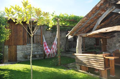 A porch or other outdoor area at Casinhas da Levada