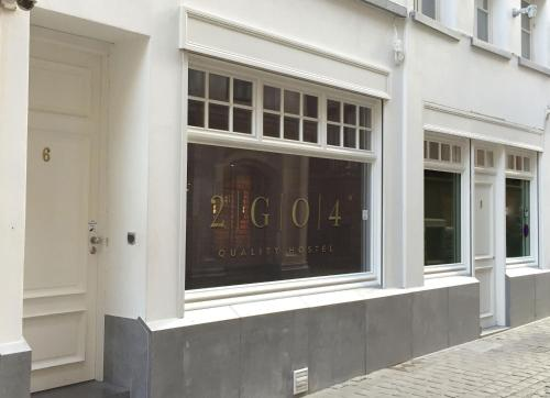 The facade or entrance of 2GO4 Quality Hostel Brussels Grand Place