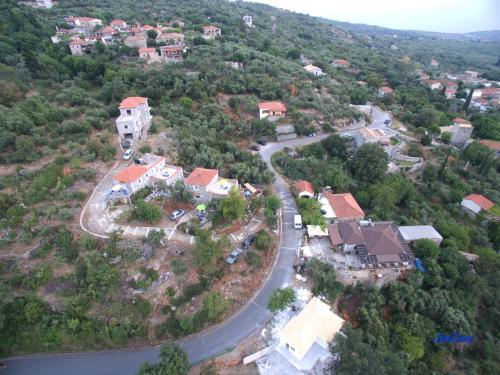 Άποψη από ψηλά του Taygetos Apartments
