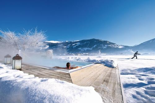 Theresa Wellness-Genießer-Hotel during the winter