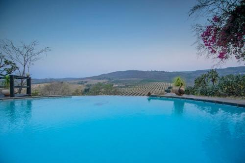 The swimming pool at or close to Abangane Guest Lodge
