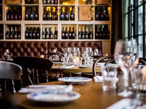 En restaurang eller annat matställe på Hotel & Ristorante Bellora