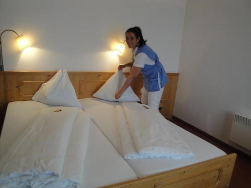 A room at Hotel Krutzler