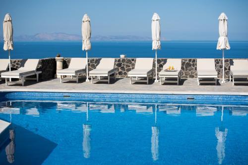 The swimming pool at or near Agnadi Villa