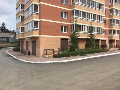 """Фасад или вход в Apartment """"Rodnye Berega"""""""
