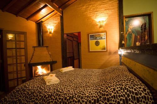 Um quarto em Pousada Cabanas no Mundo