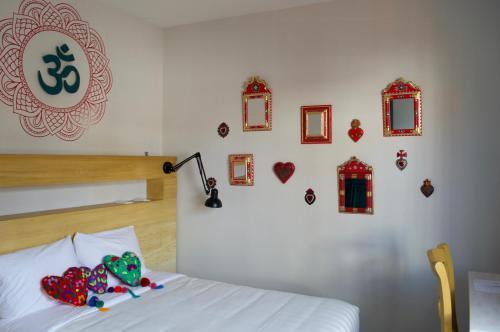 A room at La Palomilla Bed & Breakfast
