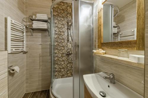 Łazienka w obiekcie Willa Roztoka