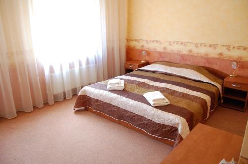 Gulta vai gultas numurā naktsmītnē Linovo