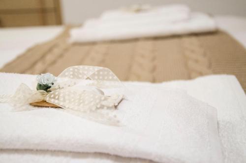 מיטה או מיטות בחדר ב-Vicolo 400