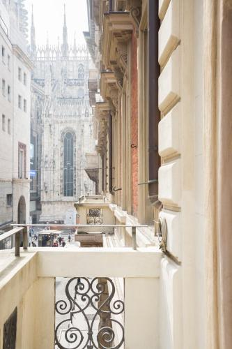 A balcony or terrace at STRAF | a Member of Design Hotels™
