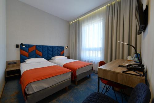 A room at Hotel Faros
