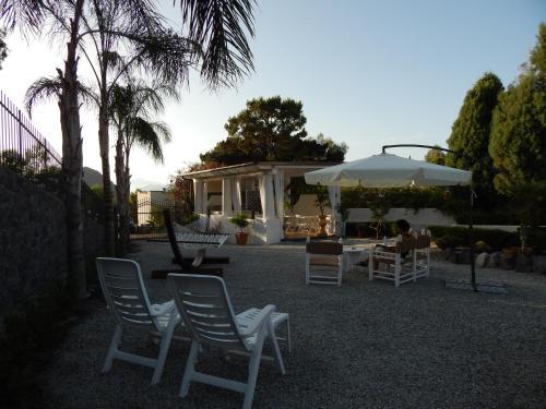 A porch or other outdoor area at Casa Arcada