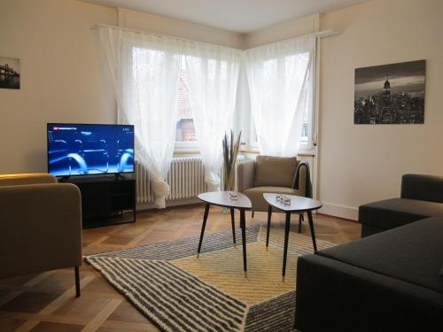 Lounge oder Bar in der Unterkunft Zurich Furnished Apartments