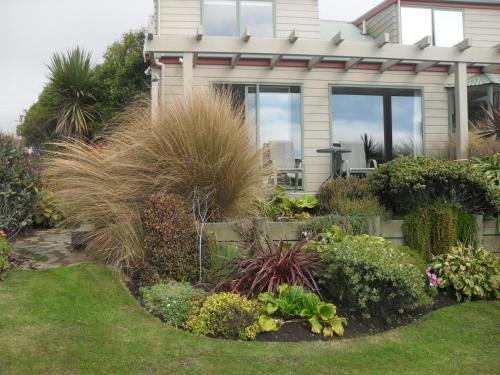 A garden outside Molyneux House