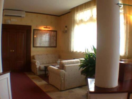 Area soggiorno di Amaranto Hotel