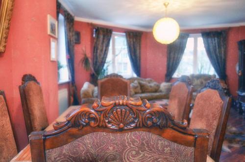 Лаундж или бар в Apartment Kamennaya 1