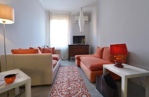 The lounge or bar area at D'Azeglio Halldis Apartments