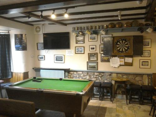 A pool table at The Foresters Arms